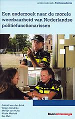 omslag onderzoek morele weerbaarheid politie