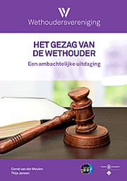 omslag het gezag van de wethouder