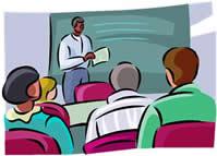 onderwijs klas en leraar