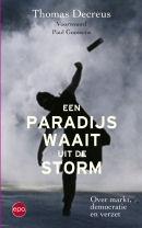 omslag een paradijs waait uit de storm