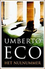 omslag het nulnummer umberto eco