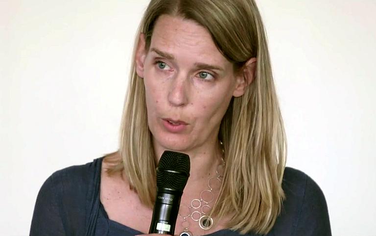 Marije van der Linde spreekt column uit in video
