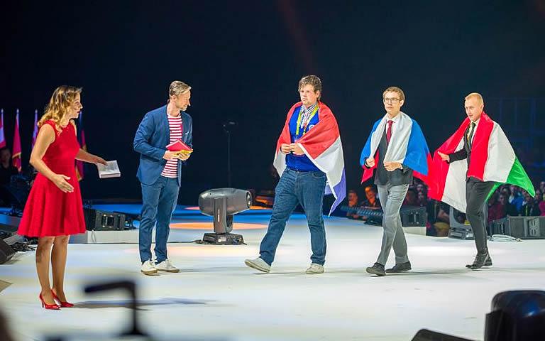 Daan Weijgertze wint gouden medaille op Euroskills 2018