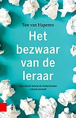 Omslag van Het bezwaar van de leraar door Ton van Haperen