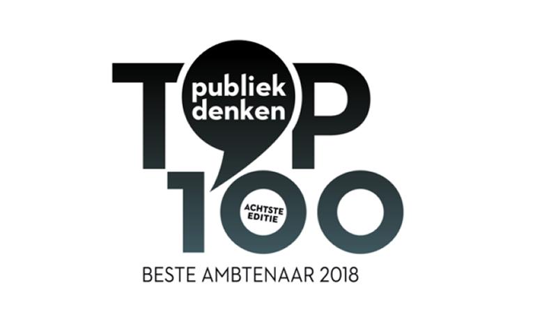 Verkiezing Top 100 Beste Ambtenaar 2018