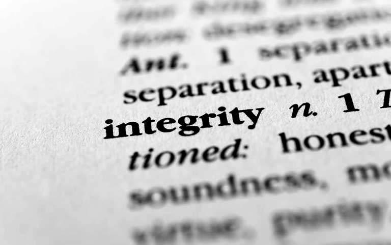 integriteit klokken luiden