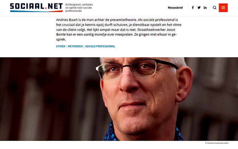 Inerview met Andries Baart door Joost Bone