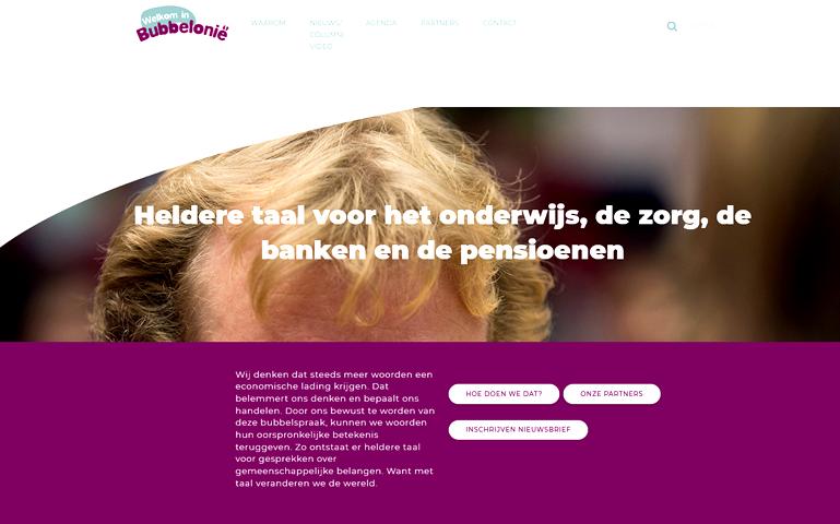Bubbelonië Peter Henk Steenhuis