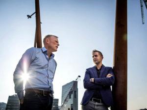 Thijs Roovers en Jan van de Ven