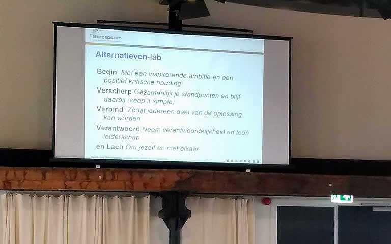 scherm alternatieven-lab
