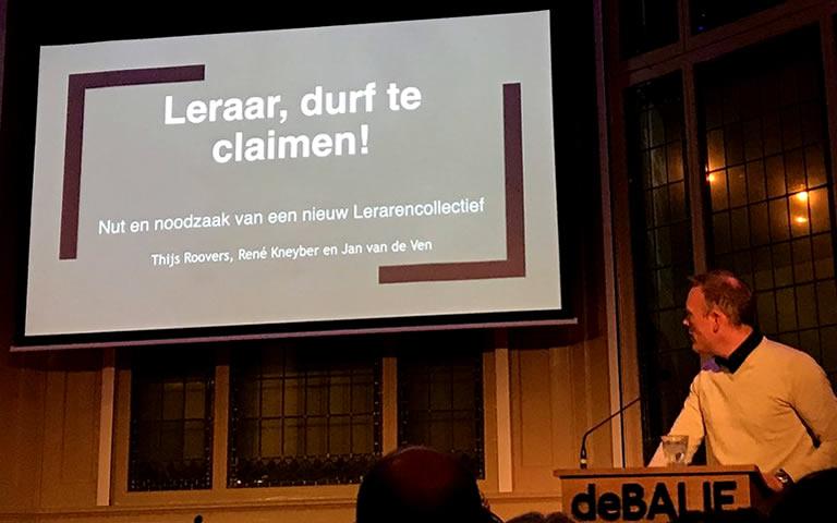 Lerarencollectief, De Balie, Amsterdam, Thijs Roovers