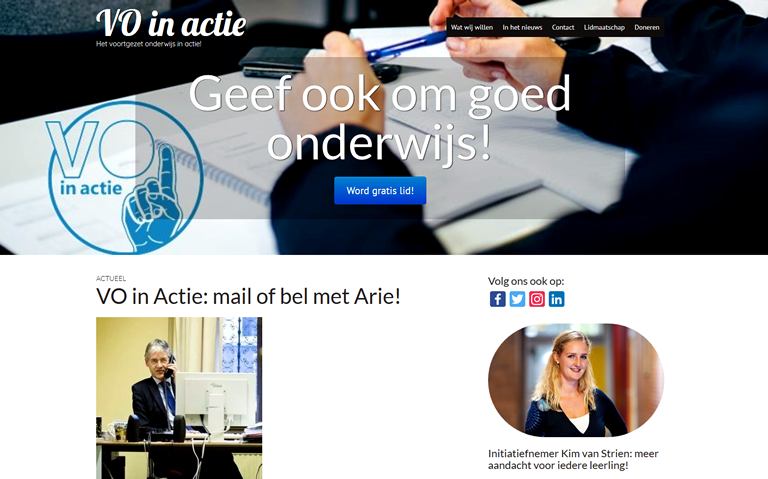 openbare mail van Kim van Strien aan minister Slob van Onderwijs