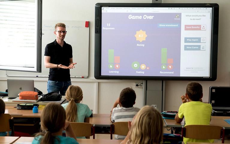 Onderzoek onder 1200 leraren in Engeland