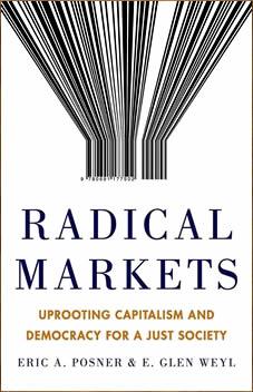 Omslag boek Radical markets