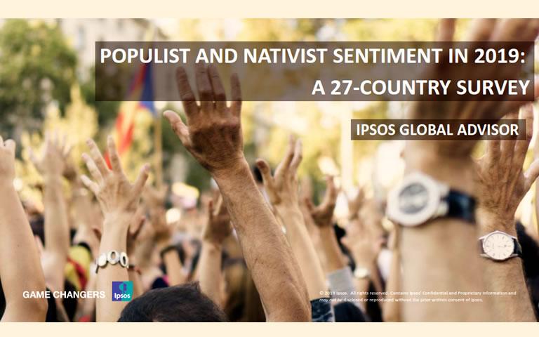 Nieuw Ipsos global onderzoek 2019