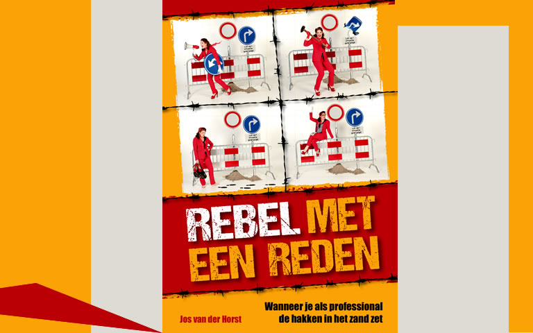 Boek Rebel met een reden: activistische professionaliteit