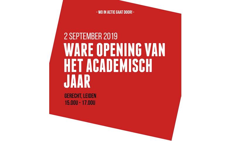 Ware opening van het acadeisch jaar in Leiden