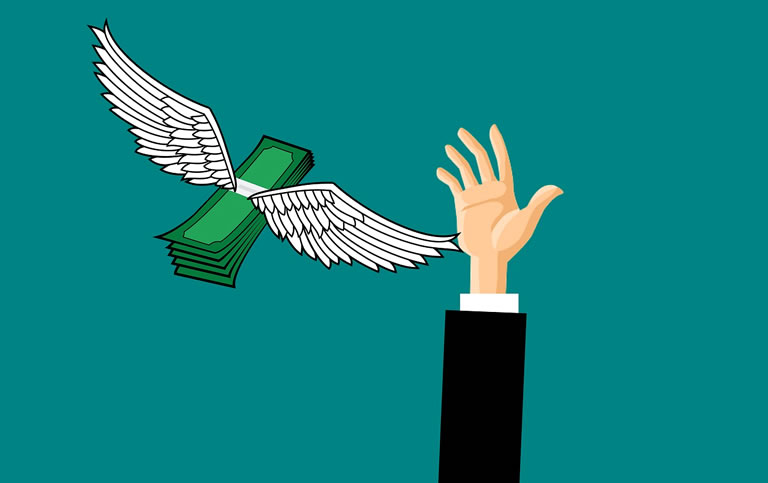 Geld vangen door gijzelsoftware.