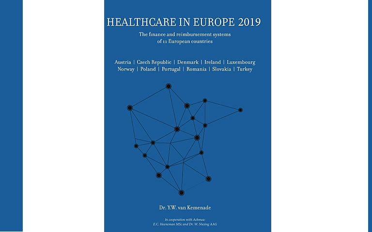 Omslag Healthcare in Europe 2019