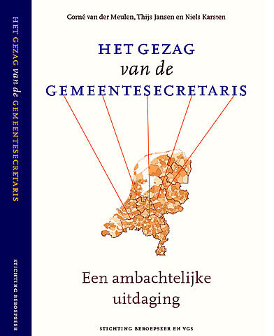 Omslag boek Het gezag van de gemeentesecretaris