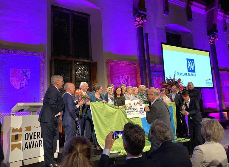 Gemeente Tilburg wint Overheidsorganisatie van het Jaar 2019