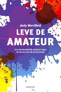 Omslag boek Leve de amateur