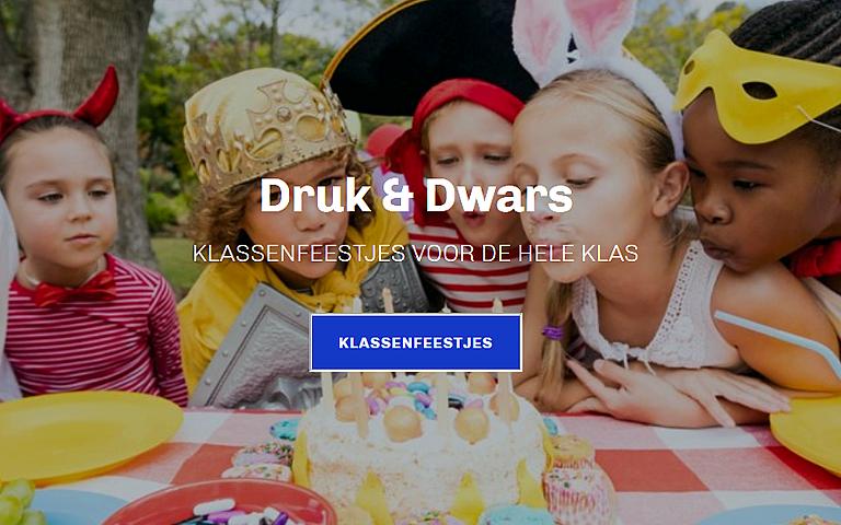 Homepage Druk & Dwars