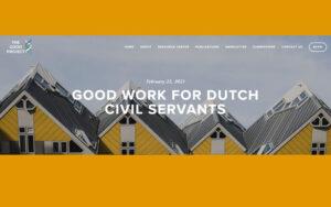 Goed werk voor Nederlandse ambtenaren