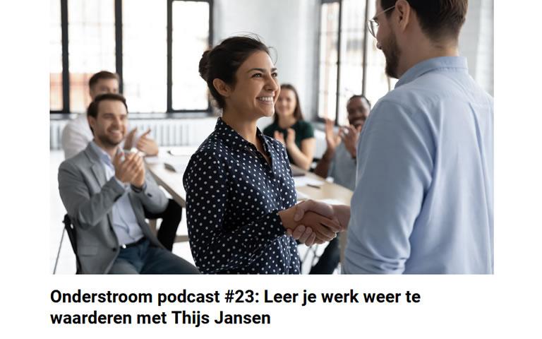 Thijs Jansen te gast in podcastprogramma over beroepseer, beroepstrots en professionaliteit