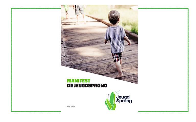 Manifest De Jeugdsprong feestelijk gepresenteerd