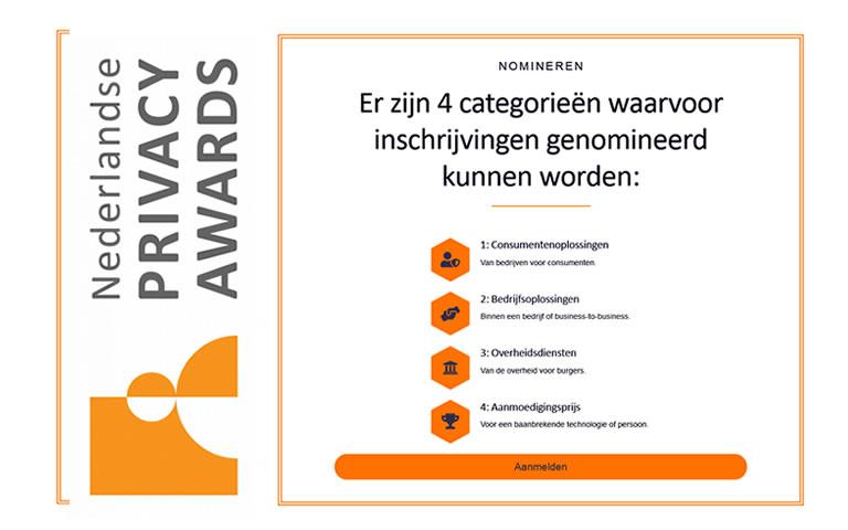 Inschrijving Nederlandse Privacy Awards 2022 geopend!