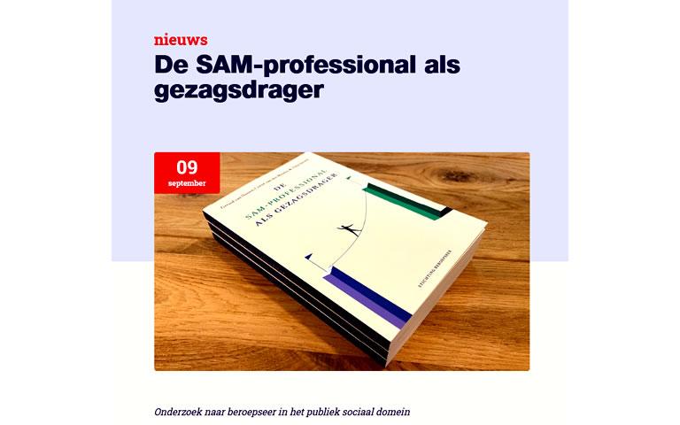 De SAM-professional als gezagsdrager. Onderzoek naar beroepseer in het publiek sociaal domein