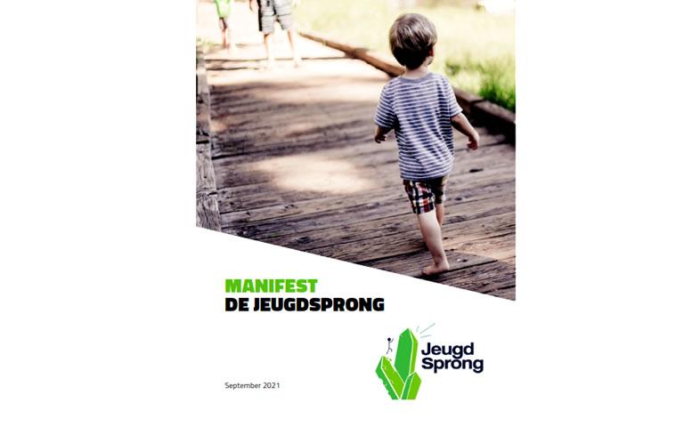 Herziene versie manifest De Jeugdsprong met update van 'aanbeveling no 5' over jeugdbescherming